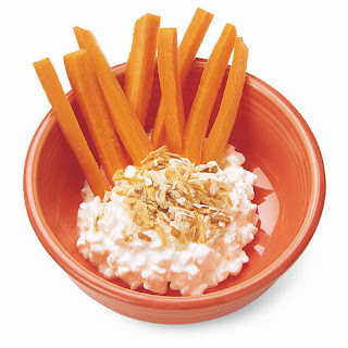 Carrot-Top with Cabot Cottage Cheese