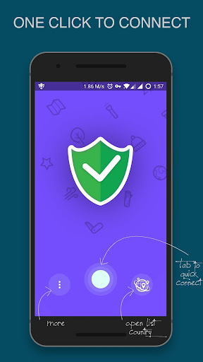 Free VPN And Fast Connect - OpenVPN For Android 3.3.3 screenshots 1