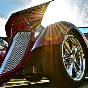 HOT WHEELS by Udo Weber - Transportation Automobiles ( red, auto, crome, ford, hot rod, classic, close )