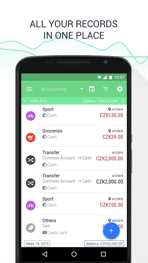 Wallet - Budget Tracker - screenshot