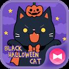 壁纸·图标 黑猫万圣节 +HOME icon