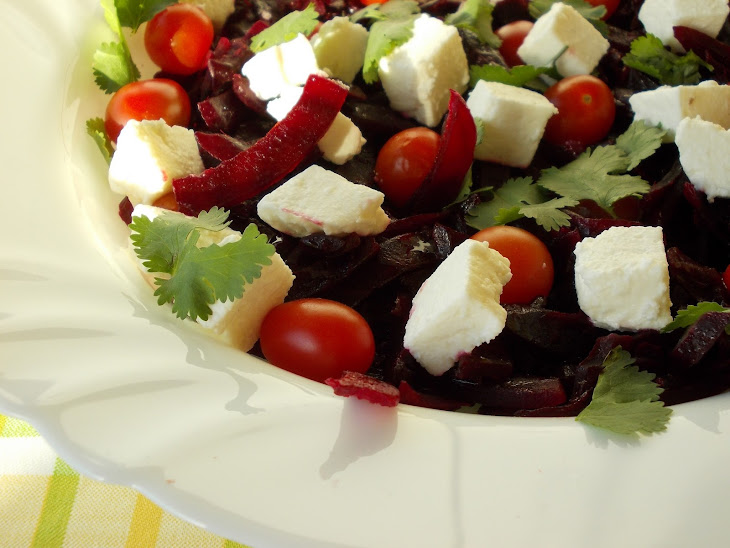 Beet Salad with Curd Recipe