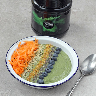Super Food Smoothie Bowl with Lean Greens.