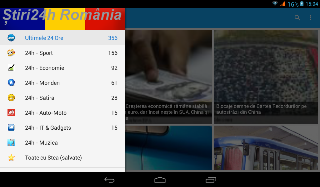 Stiri Romania 24h- screenshot