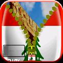 Lebanon Zipper Lock Screen icon