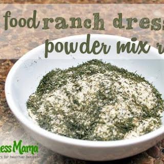 Healthy Ranch Dressing Mix