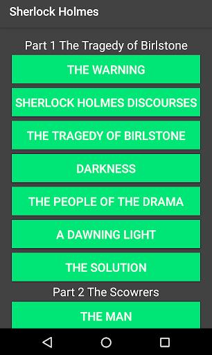 Sherlock Holmes Stories 1.3 screenshots 3