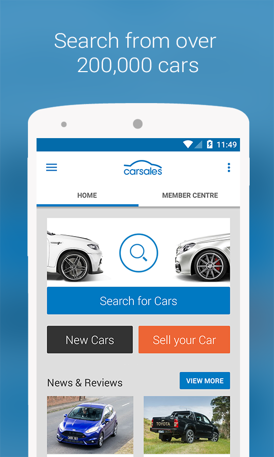 Carsales- screenshot