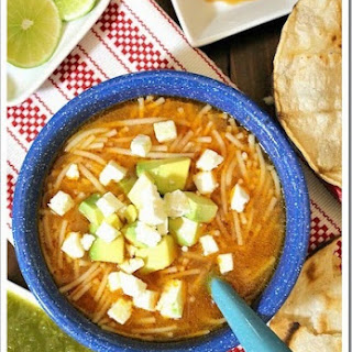 Mexican Noodle Soup / Sopa de Fideos