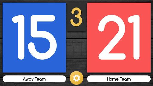 Scoreboard Free Volleyball & Basketball Swipe Up screenshots 2