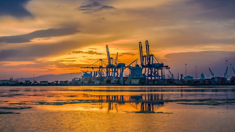 The port of Djibouti on the Red sea. Picture: 123RF/Dereje Belachew
