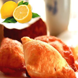 Lemon Mandazi.