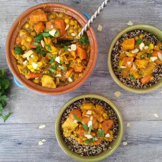 Winter Roots Quinoa Tagine [vegan]