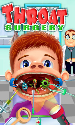 Throat Surgery Simulator