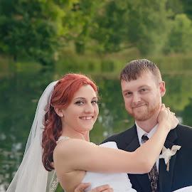 by Leann Smith - Wedding Bride & Groom
