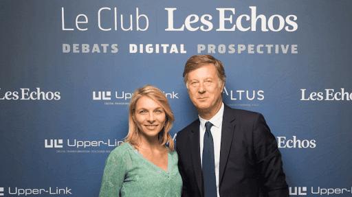 Sébastien Bazin et Maud Bailly d'AccorHotels