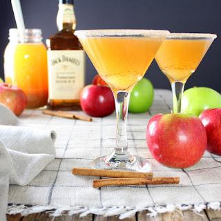 Apple Cider Honey Jack Martini.