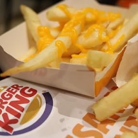 when fries meet cheese by Timmothy Tjandra - Food & Drink Meats & Cheeses ( burger, fries, potatoes, potato, cheese )