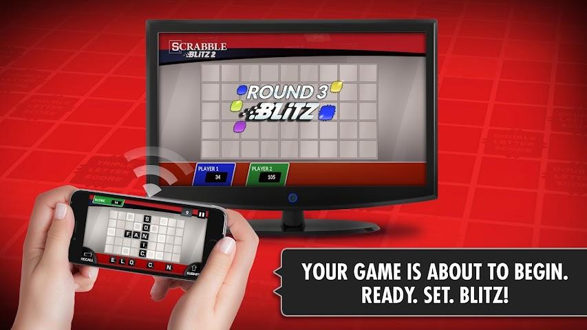 android SCRABBLE Blitz 2 Big Screen Screenshot 3