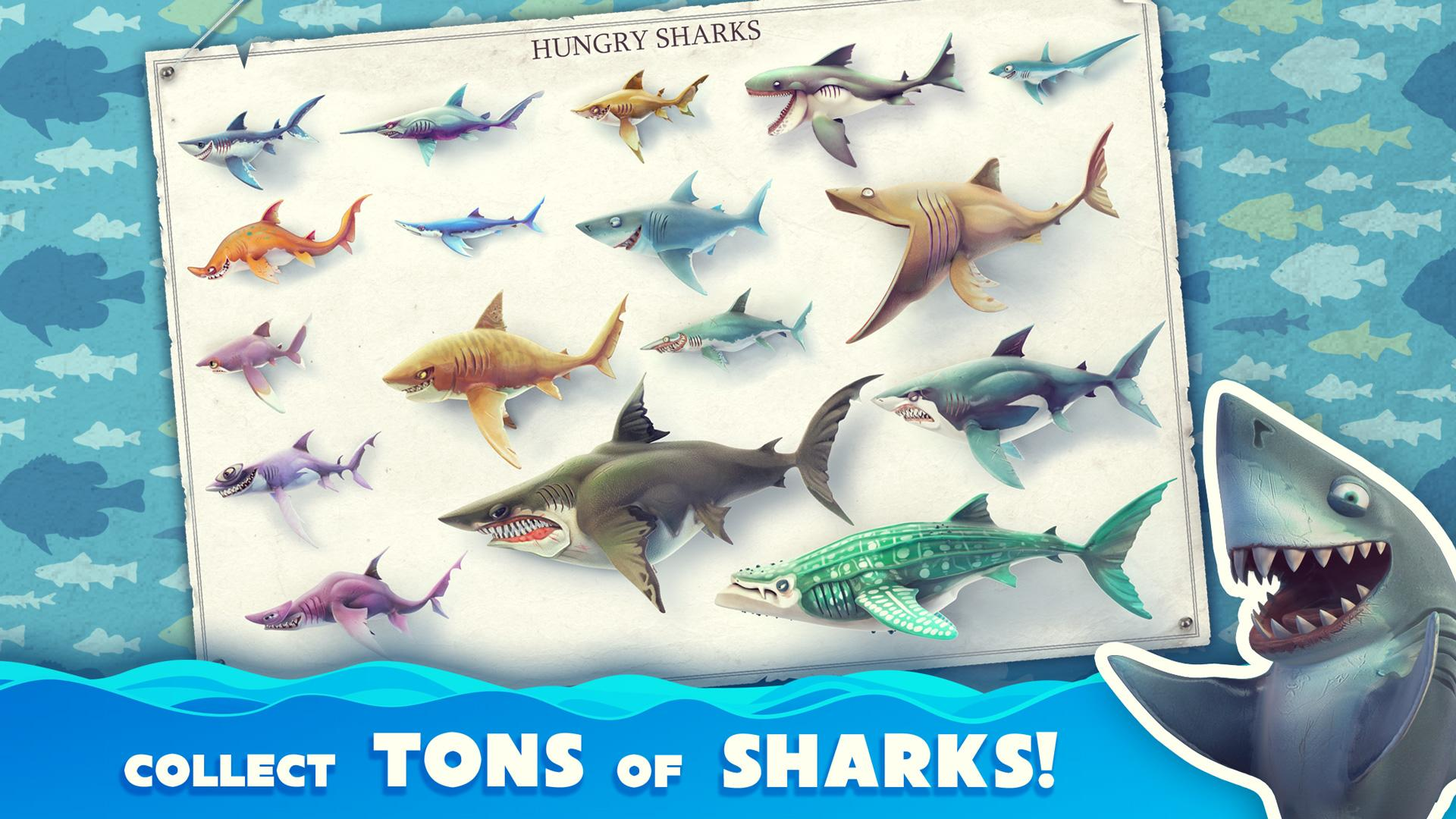 Hungry Shark World Mod Apk (Unlimited Money/Gems) 1