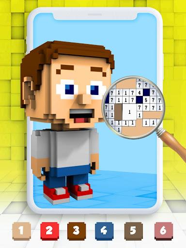 Color By Number Pixel Art 3D 1.0 screenshots 1