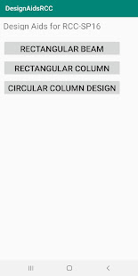 Design Aids for RCC Beam and Column Design for PC-Windows 7,8,10 and Mac apk screenshot 1