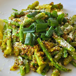 Crunchy Lemon Quinoa Asparagus Bowl Recipe