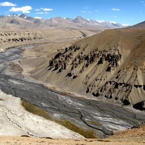 Erosion of air & Water by Saikat Datta - Landscapes Mountains & Hills