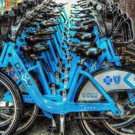 by Karen McKenzie McAdoo - Transportation Bicycles