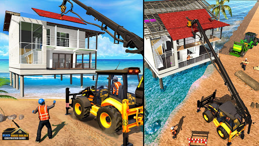 Beach House Builder Construction Games 2018 apkpoly screenshots 3
