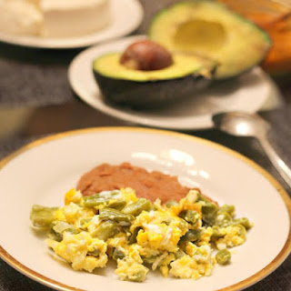 Easy Nopales and Eggs Recipe