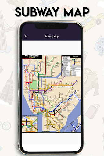 New York Subway Map Mobile.New York Guide Map Of New York City Subway Mta App Report On