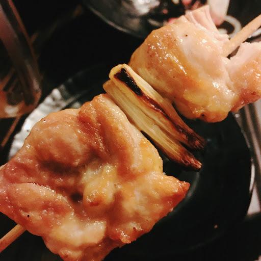 感動,好吃的串燒