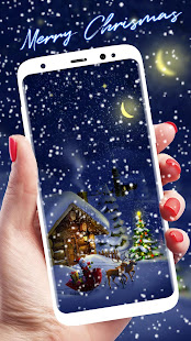 Merry Christmas 2018 APUS Live Wallpaper for PC-Windows 7,8,10 and Mac apk screenshot 1