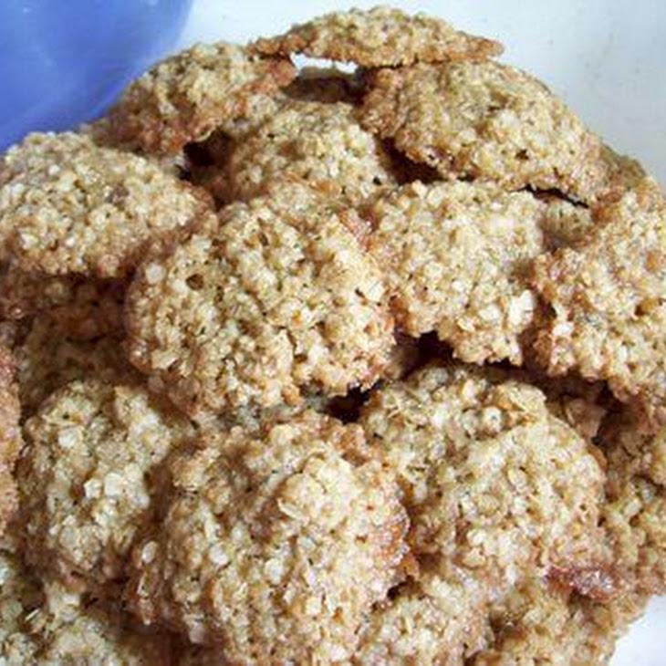 Mama's Dairy-Free Overnight Oatmeal Cookies