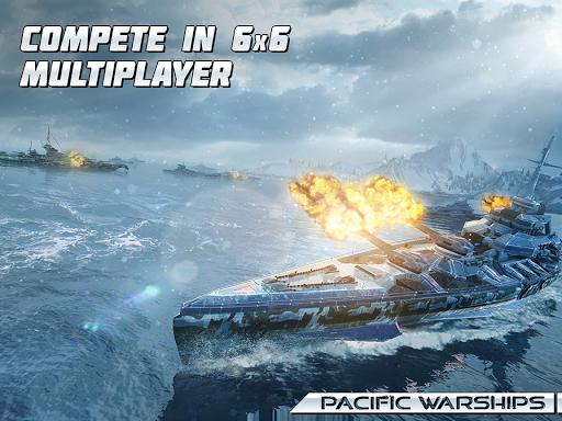 Pacific Warships: World of Naval PvP Warfare apktram screenshots 16