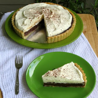 Chocolate Whipped Cream Tart.