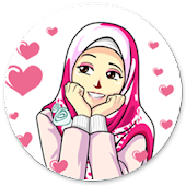 Best Sticker Cute Hijab Islamic - WAStickerApps