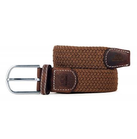 BillyBelt Braid belt brown camel