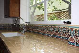 Photo: Barron Kitchen - Decorative Tile Backsplash Pvt. Residence W. Los Angeles, CA