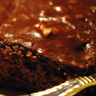 100 Year Anniversary Texas Chocolate Cake