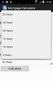 Mortgage Calculator- screenshot thumbnail