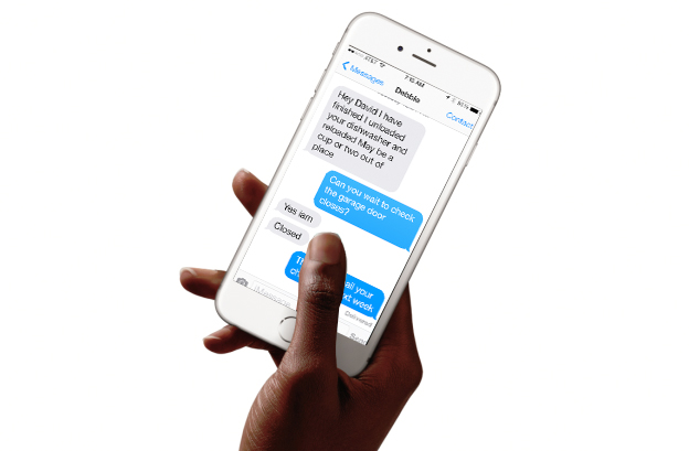 tutorial on how to export iPhone text messages