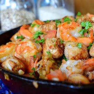 Spicy Chicken Sausage Jambalaya