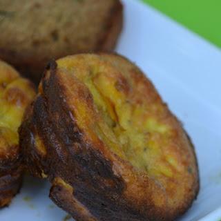 Creamy Zucchini Egg Muffins.