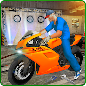 Bike Workshop Mechanic Simulator 3D