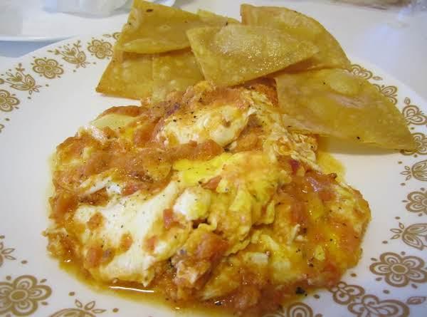 Mexica Poached Eggs/huevos Haogados