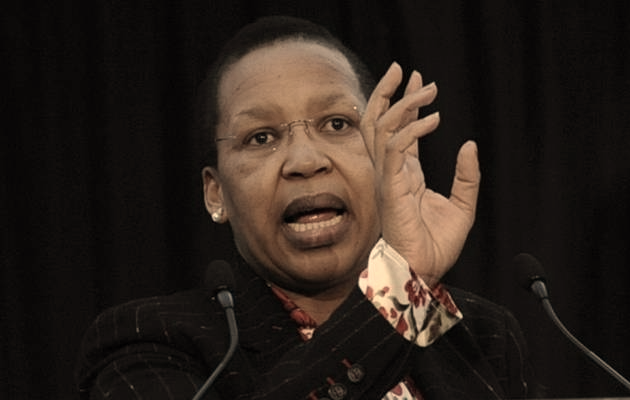 Qedani Mahlangu. Picture: THE TIMES
