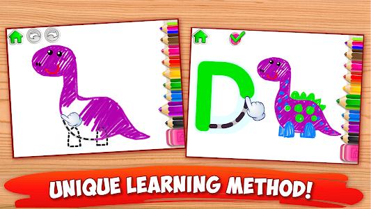 ABC DRAW 🎨 Kids Drawing! Alphabet Games Preschool 이미지[2]
