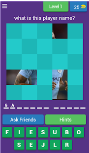 Players MANCITY FC Quiz Game - náhled